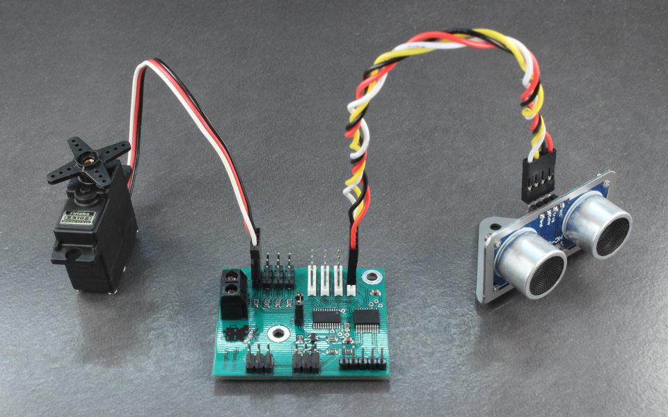 UltraBorg - Precision servo control with ultrasonic module